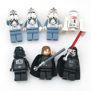 LEGO Star Wars Minifigure Bundle Job Lot - Anakin, R5-D4, Clone Pilots ++