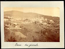 photo ancienne . Grasse  . vers 1900