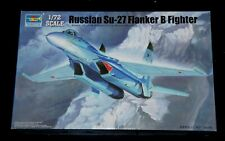 Trumpeter 01660 - Russian SU-27 Flanker B Fighter , 1:72