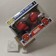 FUNKO Spider-Man Imposter Pop! Vinyl Figure 2-Pack Spiderman vs Spiderman EE Exc