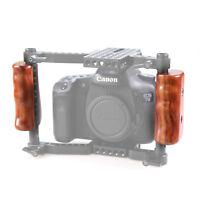 SmallRig Pair Wooden Handle for DSLR Cage Camera VersaFrame Cage Rig - 1751 SM