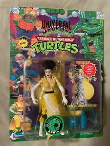 MOC 1994 Ninja Turtles April Bride of Frankenstein Universal Studios Monster