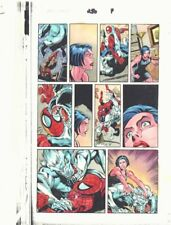 Spectacular Spider-Man #250 p.7 Color Guide Art - Man-Wolf 1997 John Kalisz