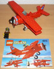 Lego City 6615 Roter Baron (Doppeldecker Flugzeug) v. 1996 + OBA