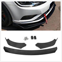 Glossy Front Bumper Lip Spoiler Body Kit For 02-19 Subaru Impreza WRX STI Sedan