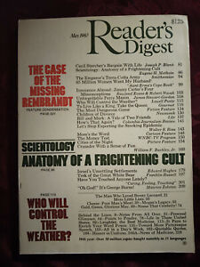 Reader Digest May 1980 Scientology Perry Mason George Burns William F. Buckley