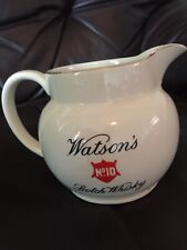 "Ultra Rare ""Watson's No10 Scotch Whisky"" Water Jug - VGC Not Seen On Ebay Before"