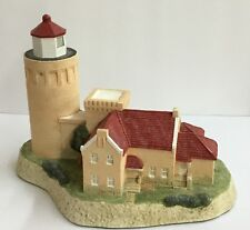 Old Mackinac Point #118 Harbour Lights Rare Find signed by Bill Younger 1991