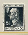 Italy Volta 1927 Early Issue Fine Mint Hinged 50c. 081308