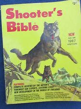 1967 Shooter's Bible No 58 Edition Stoeger 576 Pages VG