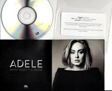 Adele 1trk PROMO CD Water Under The Bridge
