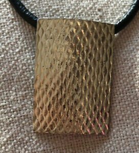 Silver & Black Unisex Choker Necklace