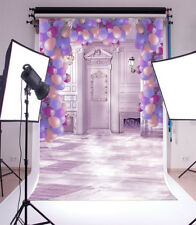 Purple Balloon Wedding Photography Backgrounds 5x7ft Vinyl Photo Backdrops Props