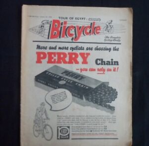 THE BICYCLE MAGAZINE DATED JAN 27 1954