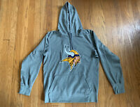 Minnesota Vikings Nike Dri-Fit Gray Hoodie Size Small EUC Rare