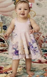 New Camilla Franks 6- 12 Months Harajuku Heiress Babies Ruffle Hem Dress