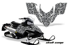 AMR Racing Sled Wrap Polaris Switchback Snowmobile Graphics Kit 06-10 SKULLCAM K