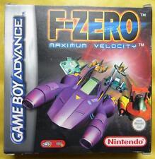 F ZERO MAXIMUM VELOCITY NINTENDO GAME BOY ADVANCE