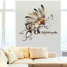 Indian Tribal Hat Wall Stickers Living Room Dining Room Wall Decals Decoration