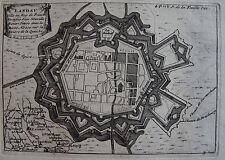CARTE DE LANDAU, LA FEUILLE, 1703