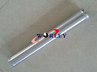 "4"" inch 102mm Aluminum Straight Turbo Intercooler Pipe Tube Tubing L=600mm 24"""