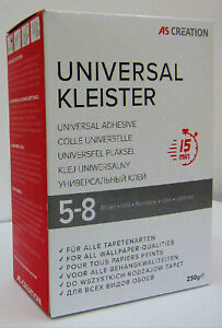4 x 250g = 1kg Rollkleister für Vliestapeten Universal-Kleister Spezial-Kleister
