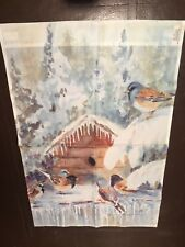 Decorative Winter Scene Flag Made By Toland