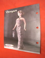 Barbie B Collector 2004 Paper Armani B2521 designer Styled by Kate Spade B2513