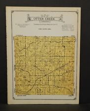 Iowa Tama County Map Otter Creek Township 1926 W14#74