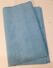 Genuine ULTRASUEDE LIGHT Faux Suede Fabric - 1/4 yard piece - LIGHT BLUE