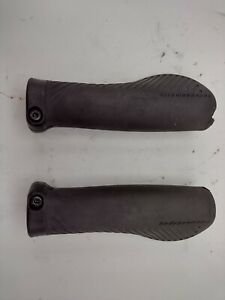 Specialized Body Geometry Black Rubber Handlebar Grips Road Bicycle MTB
