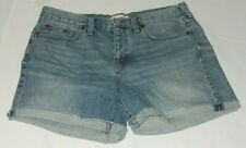 Madewell Women's Denim Jean Shorts Blue Size 29 (8-10) Button Fly Vintage Style