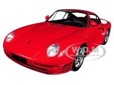 1987 PORSCHE 959 RED 1/18 DIECAST MODEL CAR BY MINICHAMPS 155066200