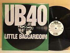 UB40 Little Baggariddim LP 1985 A&M Records SP-6-5090 1st Pressing (EX Vinyl)