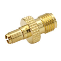 TS9 male plug to SMA female jack RF connector straight gold plating G*HWC