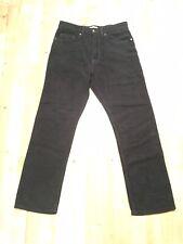Marks & Spencer Dark Green/Khaki Moleskin Cotton Jeans. 30W x 29L.
