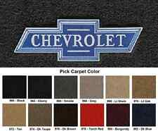 Lloyd Mats Chevrolet Vintage Bowtie Velourtex Front Floor Mats (1953 & Up)