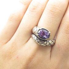 8e02f9600269f Snake Amethyst Fine Rings for sale | eBay