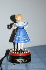 Rare Danbury Mint Singing Figurine Collection Shirley Temple Musical Figure 1996
