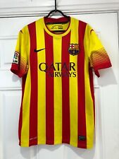 2013-14 Barcelona Away Shirt - Medium -*Neymar JR 11 On Back *
