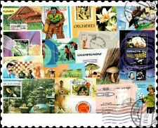 More details for cambodia miniature sheets : 50 different collection