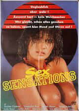 Sex Sensations | Legends of Por. Desiree Cousteau Samantha Fox Genuine cinema poster