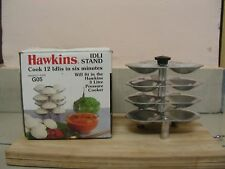 HAWKINS ALUMINIUM MINI IDLI MAKER 4 PIECE STAND COOK 12 MINI IDLI IN 3 LTR STAND