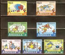 Mint Disney Anguilla cartoons stamps  (MNH)