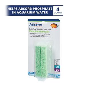 Aqueon QuietFlow 20/75 Specialty Filter Pads Phosphate 4pk