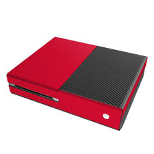 Xbox One Console Skin - Solid Red - Sticker Decal Wrap