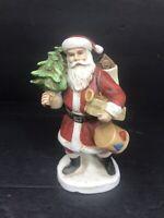 "VTG 1984 The Santa Claus Shoppe St Nicholas Circa 1910 5.5"" Figurine Old World"