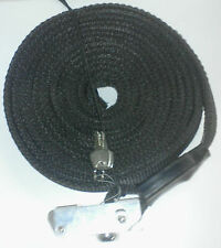 KEEPER 16' LOCK TIE DOWN STRAP CUT RESISTANT KEYED LOCKING STEEL CABLE INSIDE