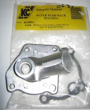 KC FORD LASER / MAZDA 323 WATER PUMP BACK HOUSING WO99A WITH PIPE FITTING