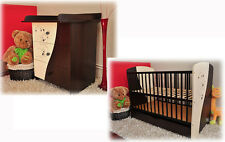 Baby furniture set MOKATE : cot with drawer + chest with drawers + mattress